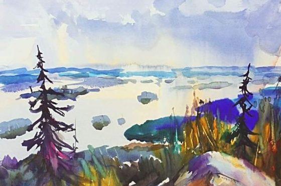 Olegin akvarellit